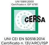 certificazione GSI - CERSA